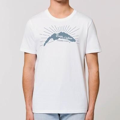 T-Shirt Homme Bouge pas l'bateau j'tiens l'lac version Léman