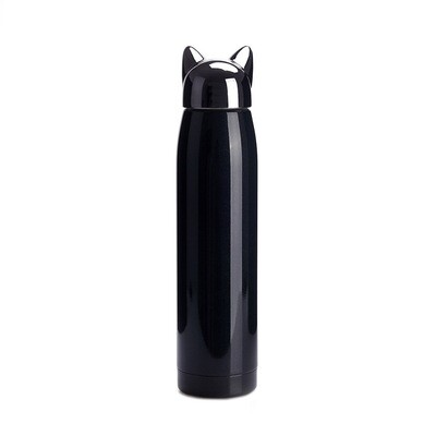 Thermos Chat inox