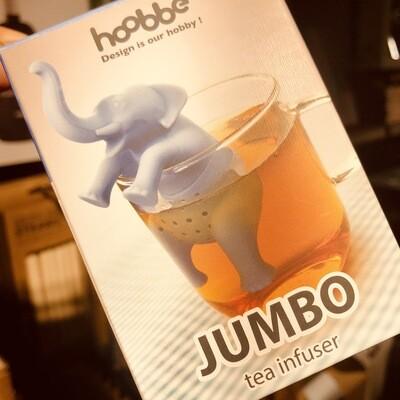 Infuseur à thé éléphant bleu