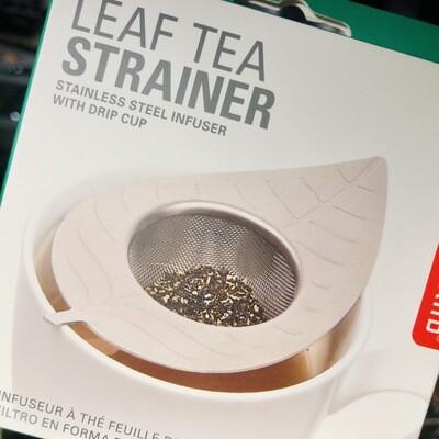 Infuseur à thé feuille