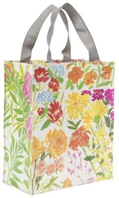 Petit Tote Bag Pic-nique Fleurs du jardins