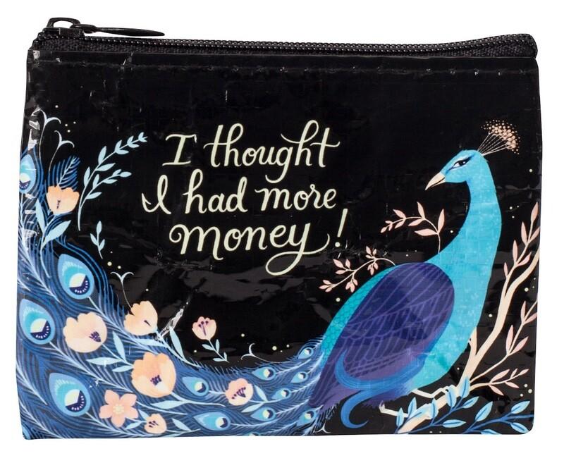 Petite pochette à monnaie zippée More Money