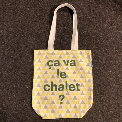 Tote bag CullyCully Ca va le chalet ?