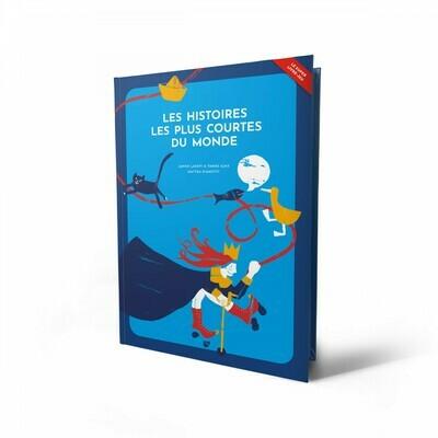 Livre jeu enfant - Les histoires les plus courtes du monde Helvetiq