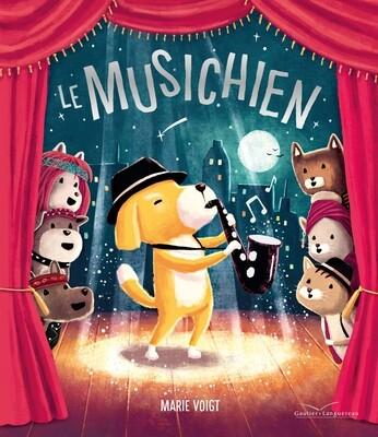 PROMO Livre enfant -  Le musichien