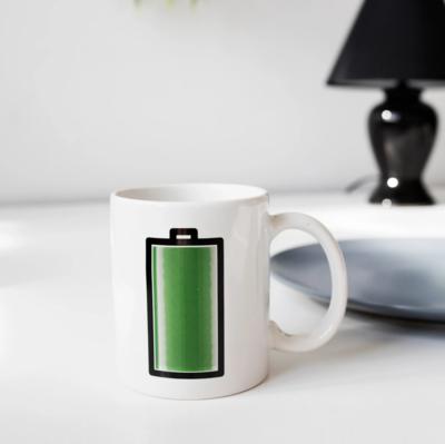 Mug Tasse batterie