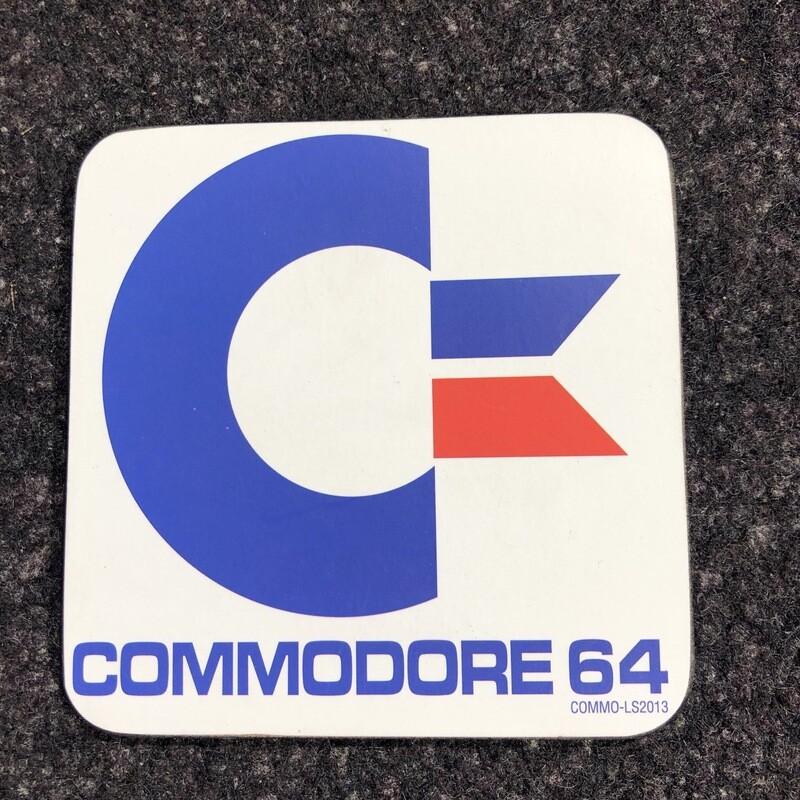 Sous-verre commodore 64