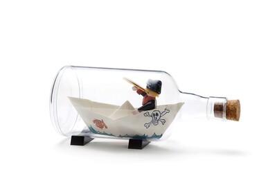 La bouteille de l'impossible ♥️