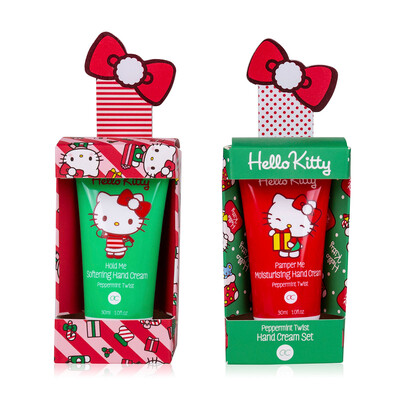 Coffret soin des mains de Noël Hello Kitty