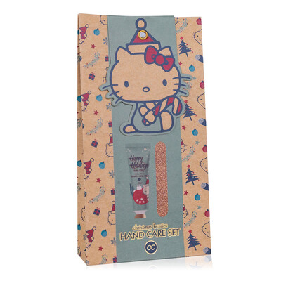 Coffret soin des mains Hello Kitty Noël