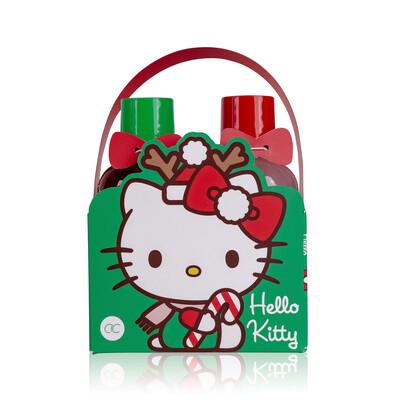 Set cadeau pour le bain de Noël Hello Kitty