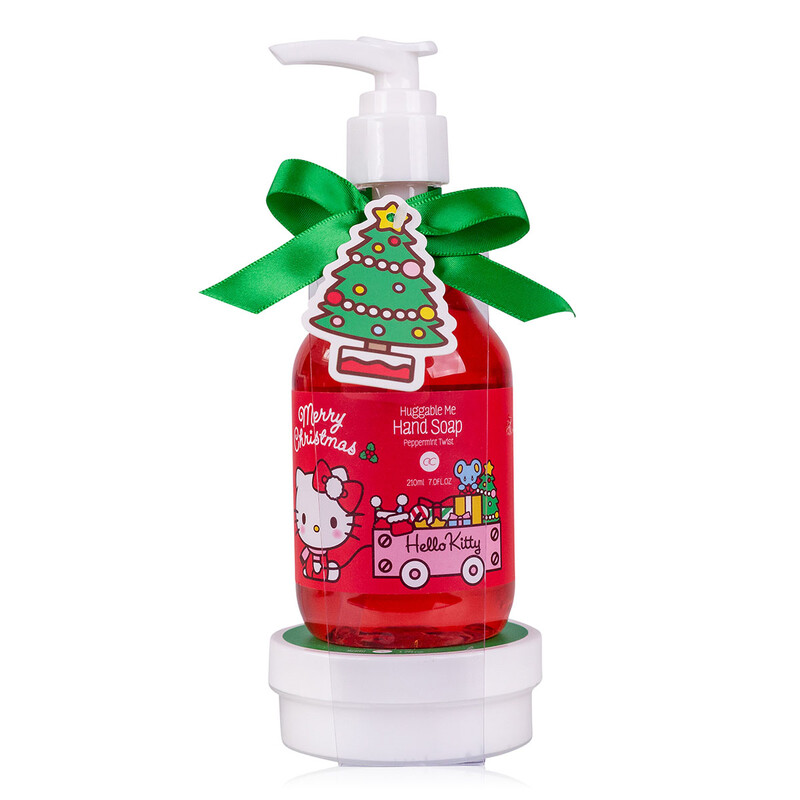 Set pour le bain de Noël Hello Kitty