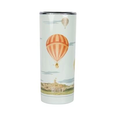 Verre thermique montgolfière  inox 590ml
