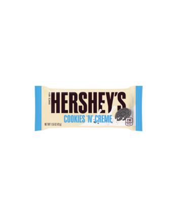 Chocolat - Hershey's Cookies'n'creme candy 40g