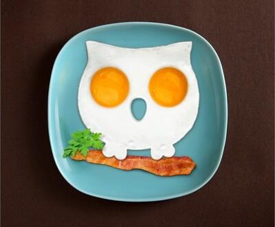 Moule à œuf Hibou