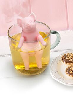 Infuseur à thé cochon