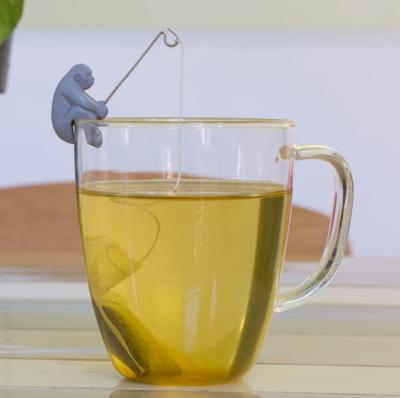 4 Supports à sachet de thé Monkey