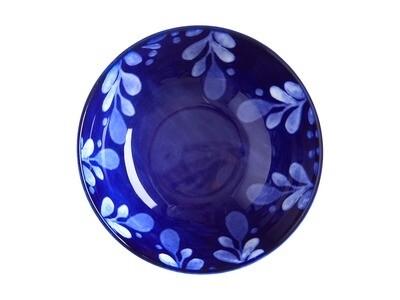 Bol Bleu foncé Majolica 10 cm