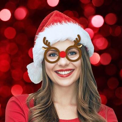 Set de 6 lunettes de Noël