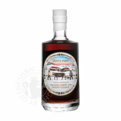 Liqueur de whisky Appenzeller- Säntis Malt Bärli-Biber