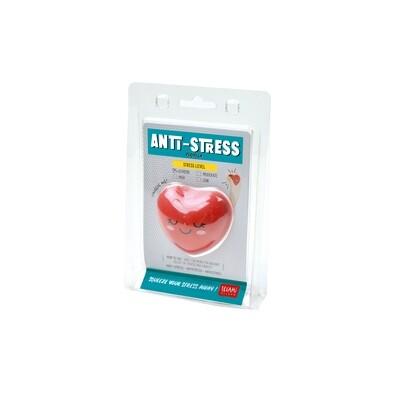 Balle anti-stress en forme de cœur