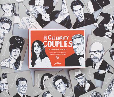 Jeu - The Celebrity Couples Memory Game - en anglais