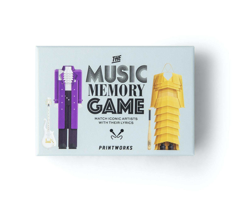 Jeu - Music Memory Game - en anglais