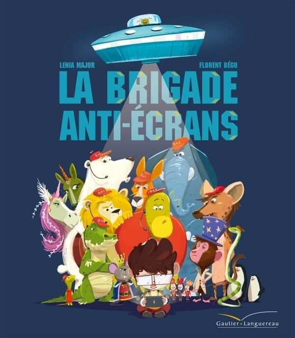 Livre enfants - La brigade anti-écrans