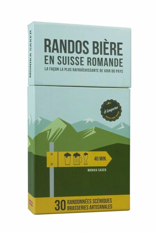 Livre guide - Boîte - Randos Bières en Suisse Romande
