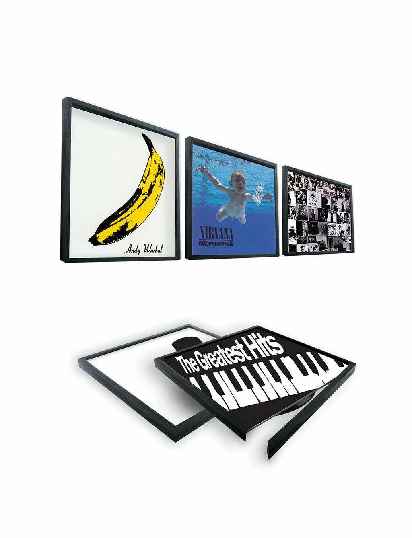 Cadre pour disque Vinyl 33 tours ♥️