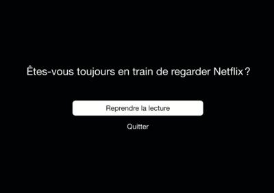 Carte de vœux & enveloppe Particules -  Etes-vous encore en train de regarder Netflix ?