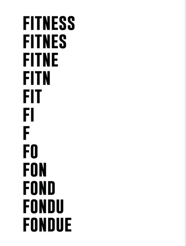 Carte de vœux & enveloppe Particules - Fitness Fondue