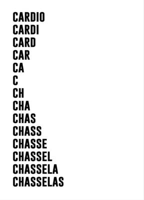 Carte de vœux & enveloppe Particules -  Cardio - Chasselas