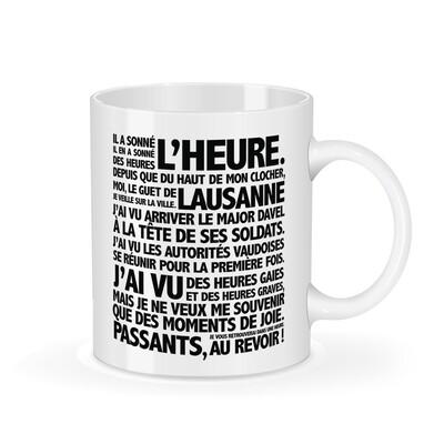 La tasse Particules et sa jolie boîte - Place de la Palud - Lausanne