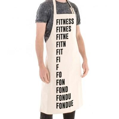 Tablier Particules - Fitness-Fondue
