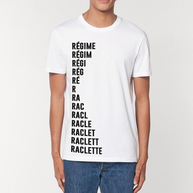 T-Shirt Particules homme - Régime Raclette