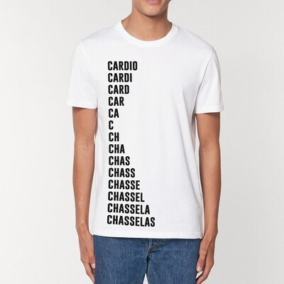 T-Shirt Particules homme - Cardio -Chasselas
