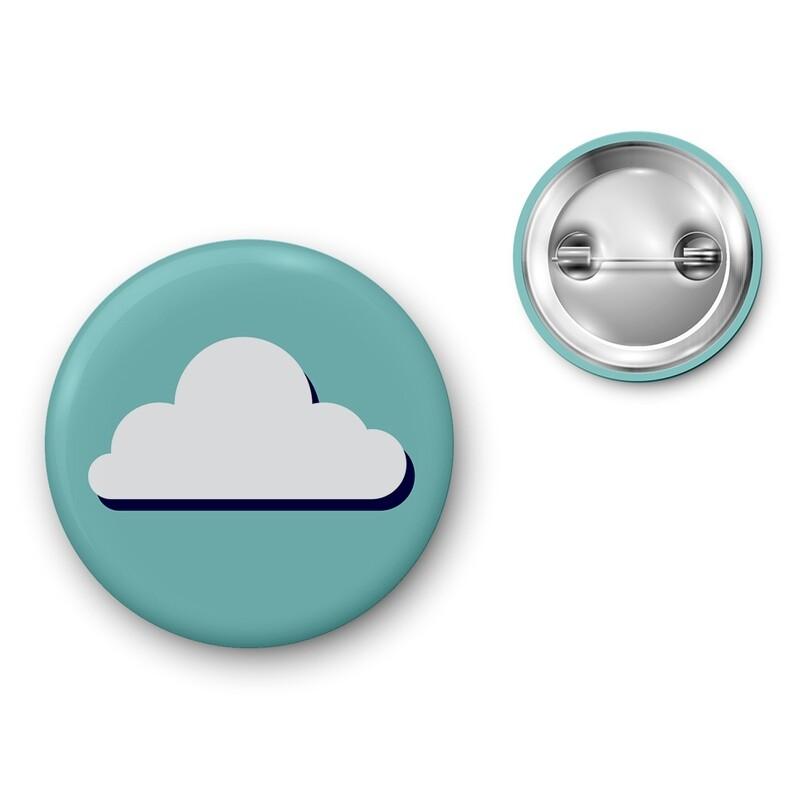 Badge Particules - Nuage