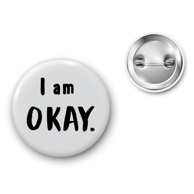 Badge Particules - I am okay