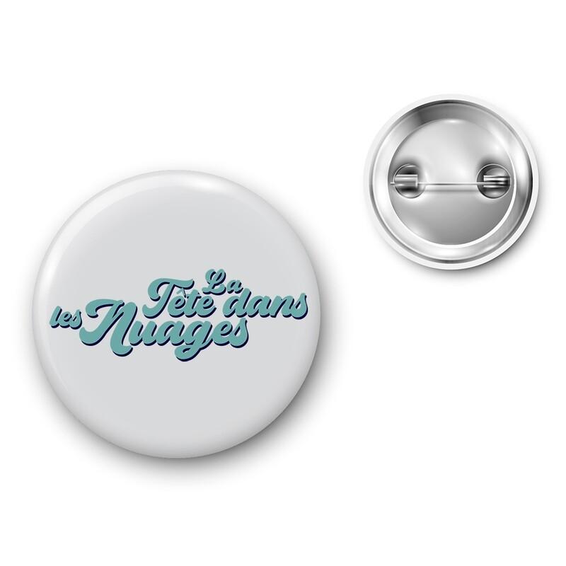 Badge Particules - La tête dans les Nuages