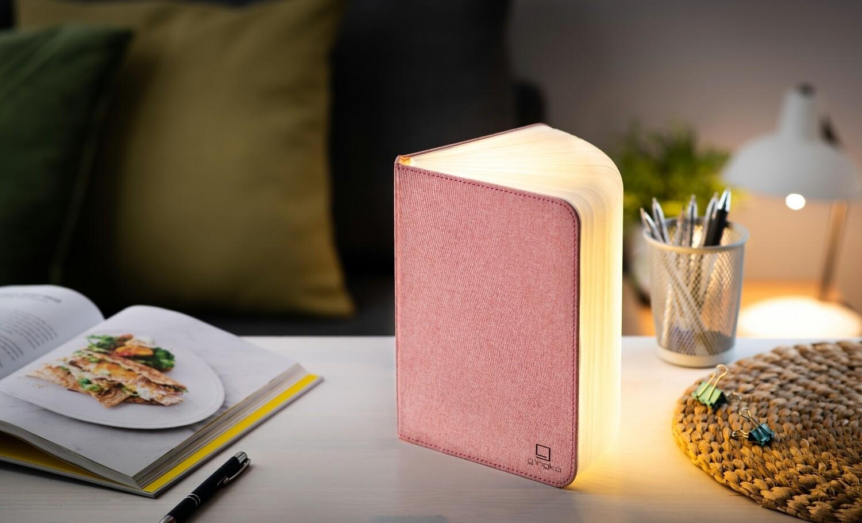 Le grand livre lumineux original lin rose pâle  ♥️
