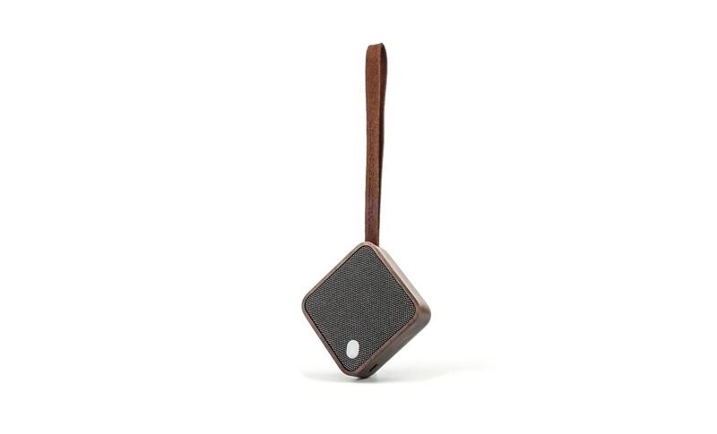 Haut-Parleur Bluetooth de poche noyer