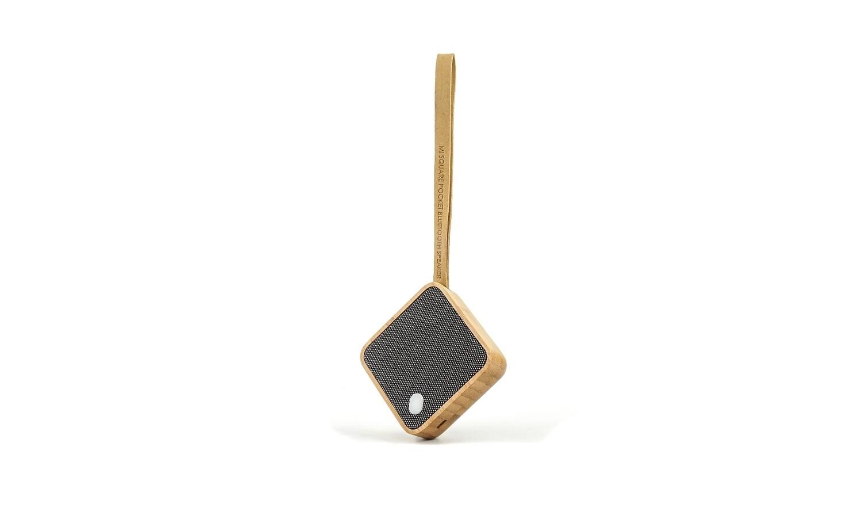 Haut-Parleur Bluetooth de poche bois bambou ♥️
