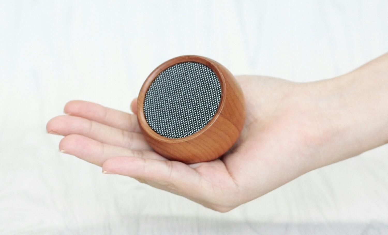 Mini Haut-Parleur Bluetooth - cerisier