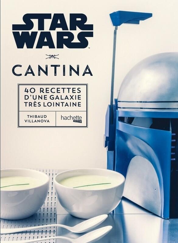 Livre de cuisine - Starwars 40 recettes d'une galaxie lointaine  ❤️