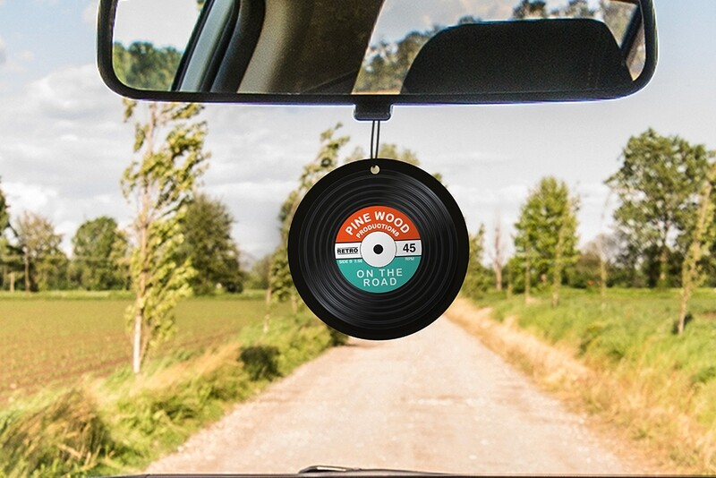 Sent bon pour voiture en forme de vinyle