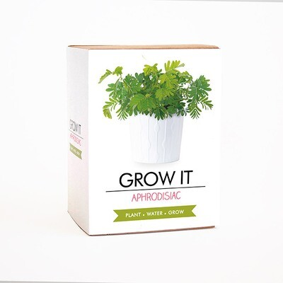 Coffret Je fais pousser ma plante aphrodisiaque