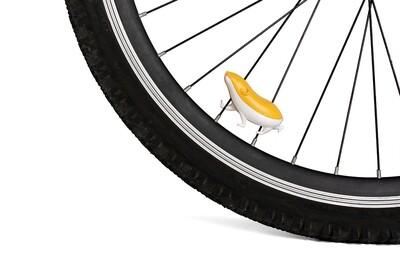 Le petit cochon-d'inde réflecteur pour les rayons de votre vélo