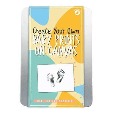 Coffret pour peindre les pieds et les mains de bébé