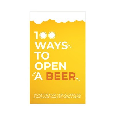 Le jeu de cartes : 100 façon d'ouvrir une bière